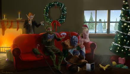 Onderbeds Christmas by Flowlow