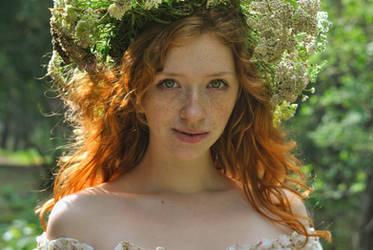 Forest Fairy by AnastasiaStaroselets