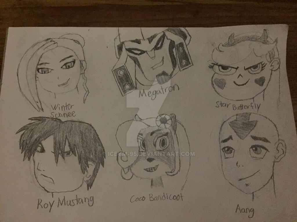 Sketch Dump 3 by IceyM-95