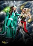 Ms. Marvel vs Rogue