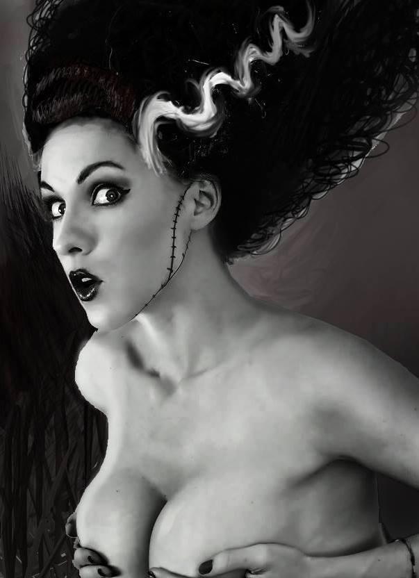 Bride of Frankenstein by megmurrderher
