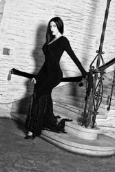 Morticia Addams by megmurrderher