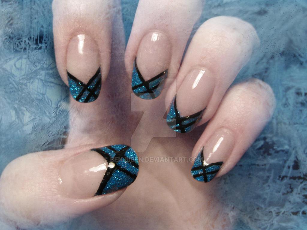 Winter Nails by BenjiiBen
