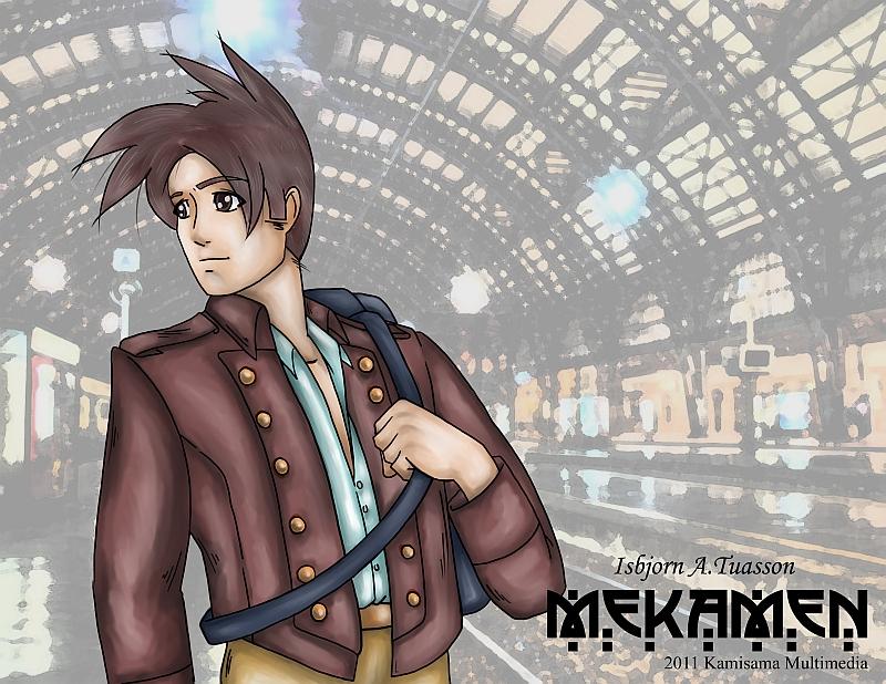 Mekamen Character Line-up: Isbjorn Tuasson by Cracknut
