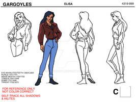 Elisa Maza Reference Sheet