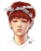 Bandana Yoongi by rivertem