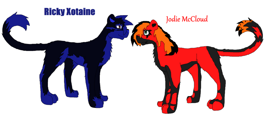 Ricky Xotaine Jodie McCloud by xXMr-BrightsideXx