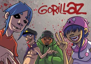 gorillaz by raulex