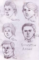 Downton Sketches by Meikoe