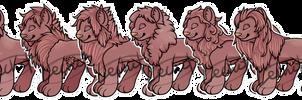 P2U - Chibi Lion Base - 100 Points