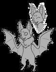 [F2U] Bat Anthro Base