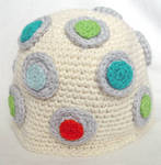 crochet dots hat by meekssandygirl