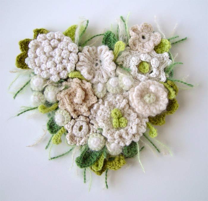 Free Crochet Patterns For Flower Brooch : Crochet favourites by CrystalGreene on DeviantArt
