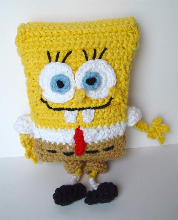 Crochet Spongebob Squarepants by meekssandygirl on DeviantArt