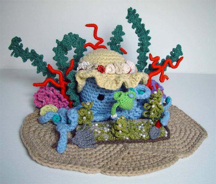 Crochet Octopus 39 S Garden By Meekssandygirl