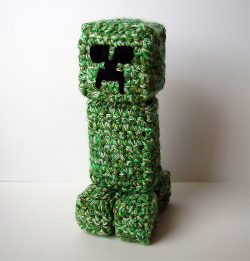 Orca Amigurumi Free Pattern : Crochet Minecraft Creeper by meekssandygirl on DeviantArt