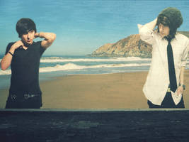 Mitchel Musso On The Wall by amstyle