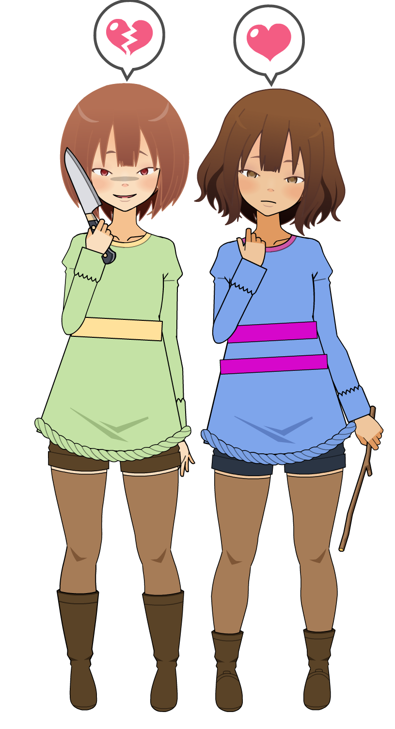 Frisk And Chara [remak...
