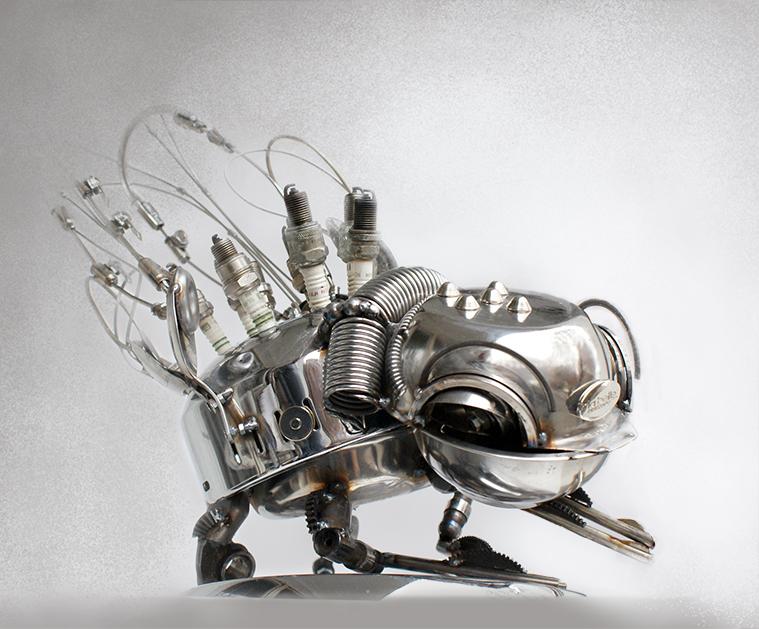Steampunk flea 2 by Muti-Valchev