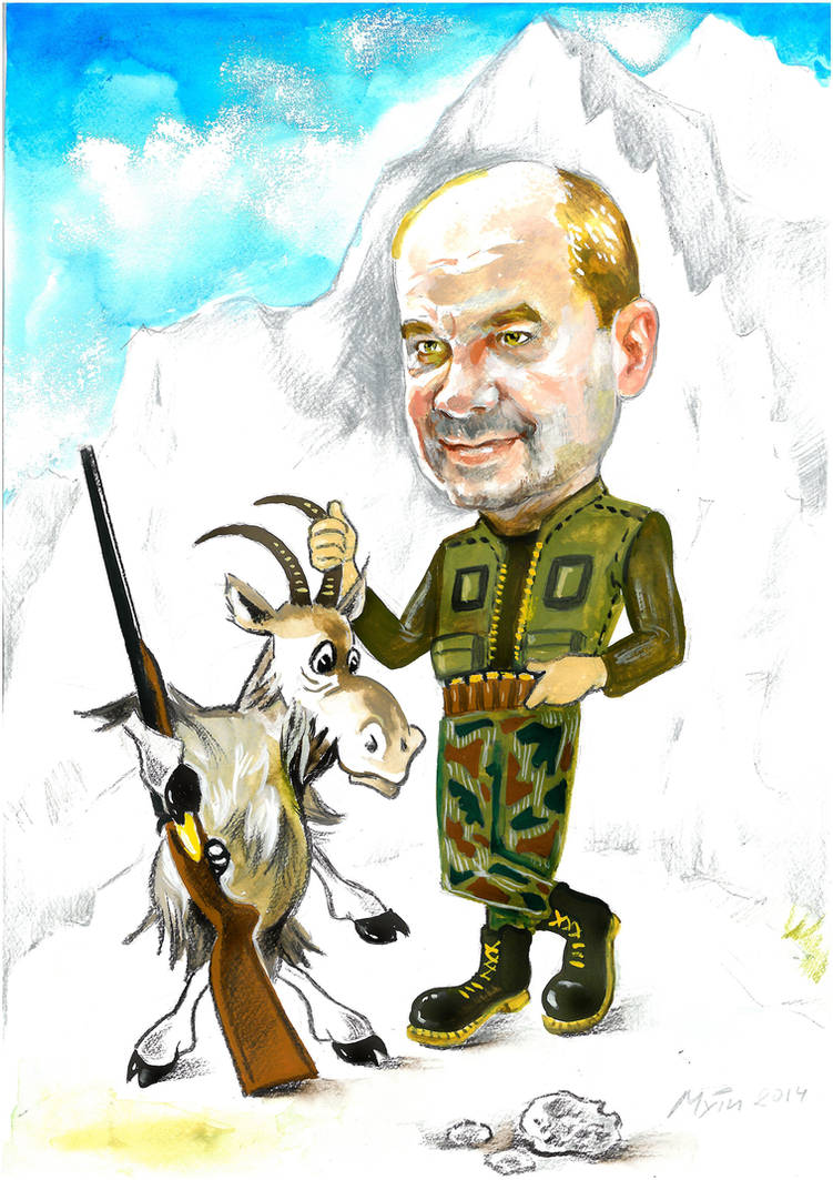 Caricatured by Muti-Valchev