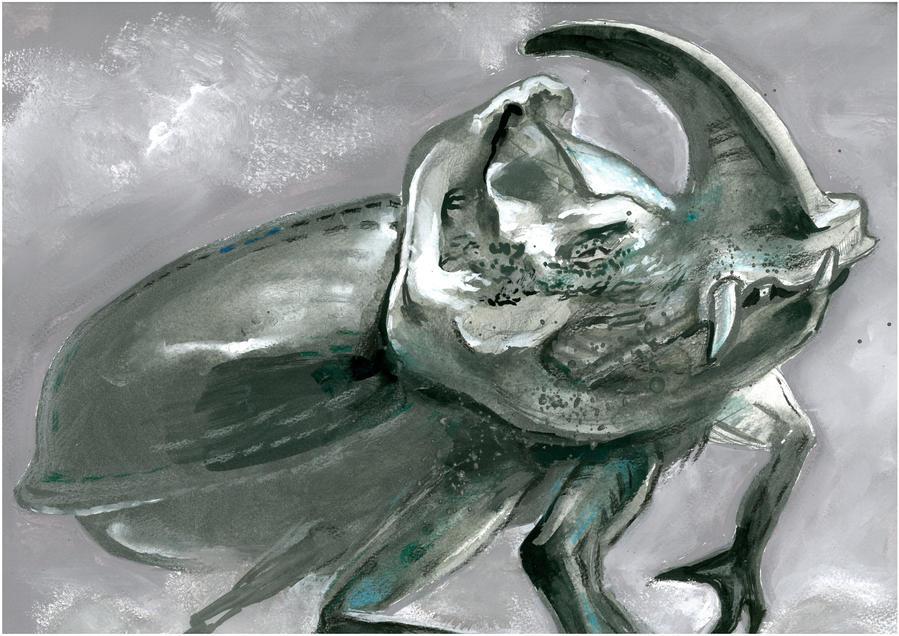 Rhino beetle by Muti-Valchev