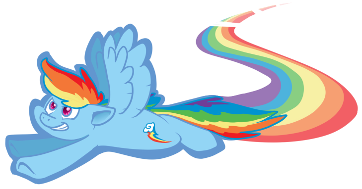Rainbow Dash by DuctTapeMaiaWolf