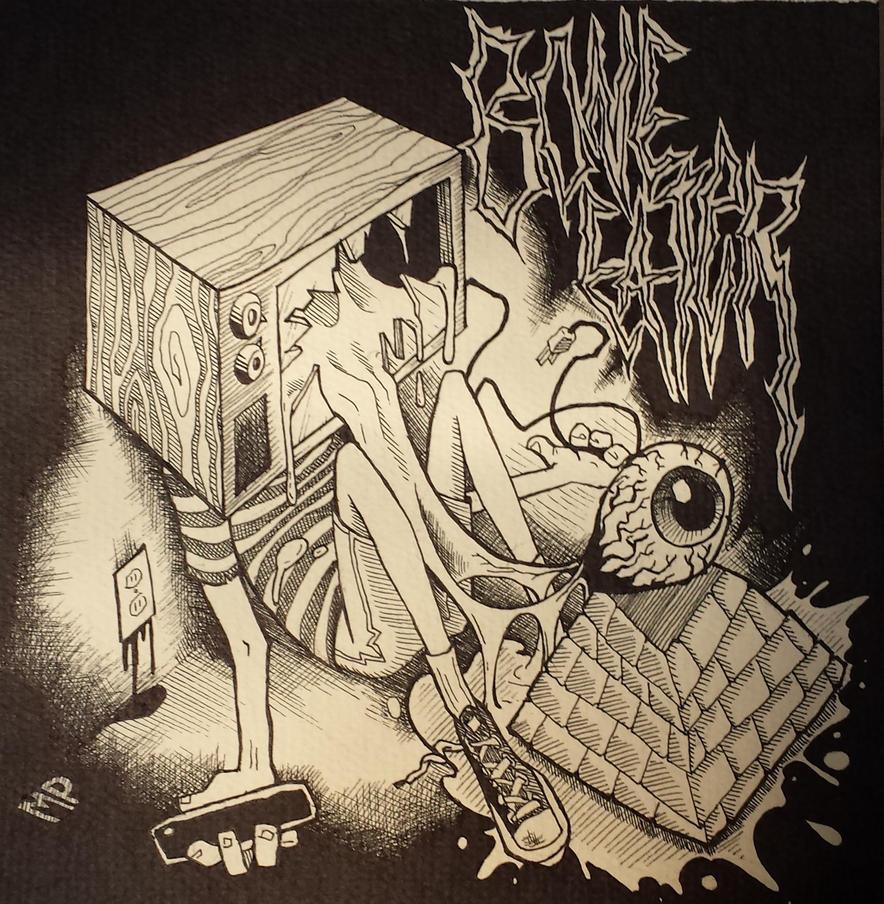 Bone Eater album art by mpatterson1979