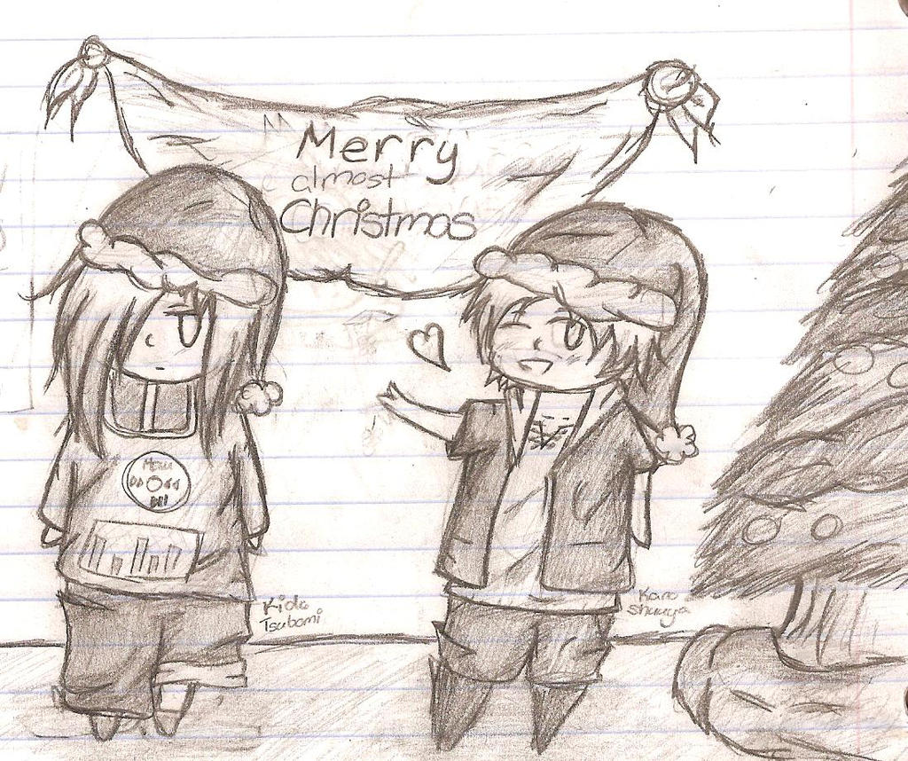 Merry (almost) Christmas! by the-deceitful-smiles on DeviantArt