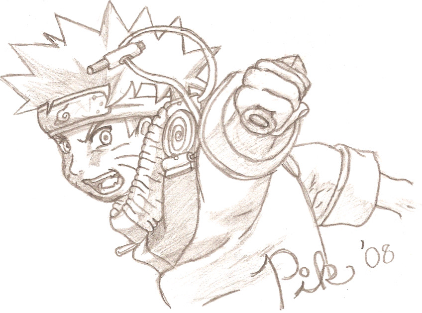 My Best Drawing: Naruto by PikminKirby on DeviantArt
