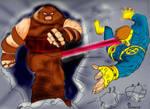 Juggernaut vs. Cyclops