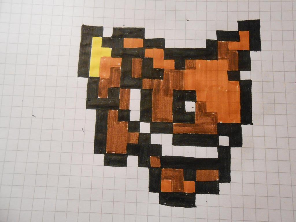 Pixel Art Pokemon Facile Evoli
