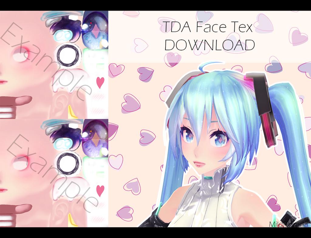 Mmd Tda Head Edit Dl By Destiny7865 Mmd Download Tex