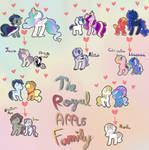 The royal/ apple family