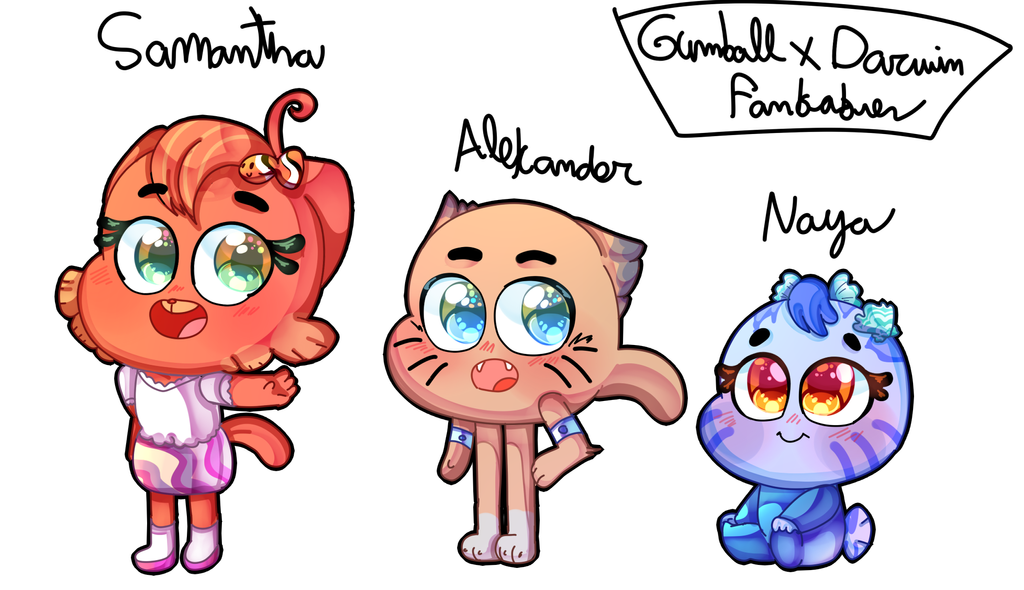 TAWOG: Gumwin Babies by karsisMF97