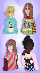 OC Ugly christmas sweater by karsisMF97