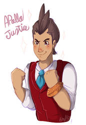 Apollo justice by karsisMF97