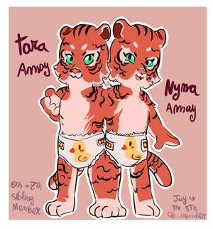 baby conjoined tigresses