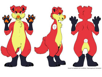 Border Collie Adoptable (CLOSED) by SilverBronzong