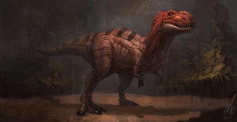 Tyrannosaurus rex - concept art