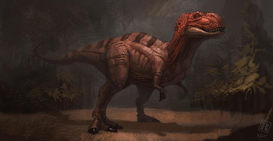 Tyrannosaurus rex - concept art by Raph04art