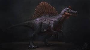 Spinosaurus - concept art