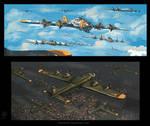 warplanes (b17s)