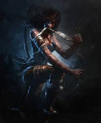 Lara Croft - Survivor by RAPHTOR