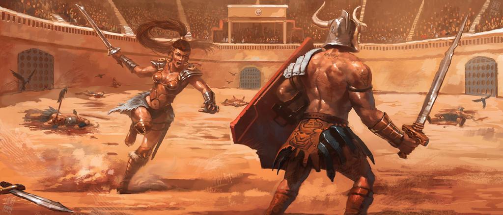Gladiatrix by Raph04art