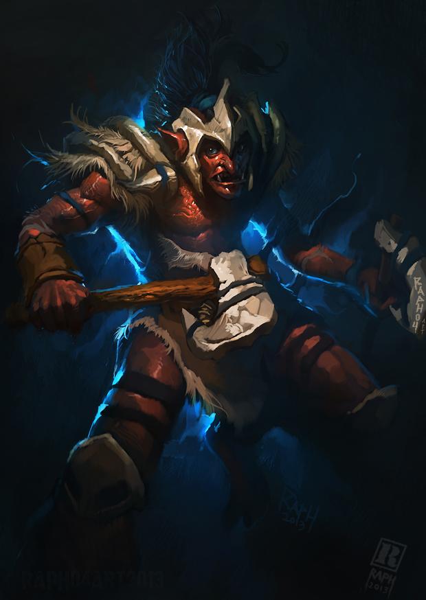 DOTA 2 - Troll Warlord by Raph04art on DeviantArt