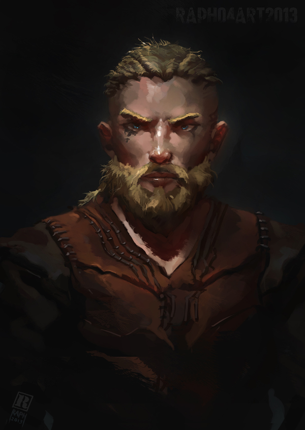vikings how to add portraits