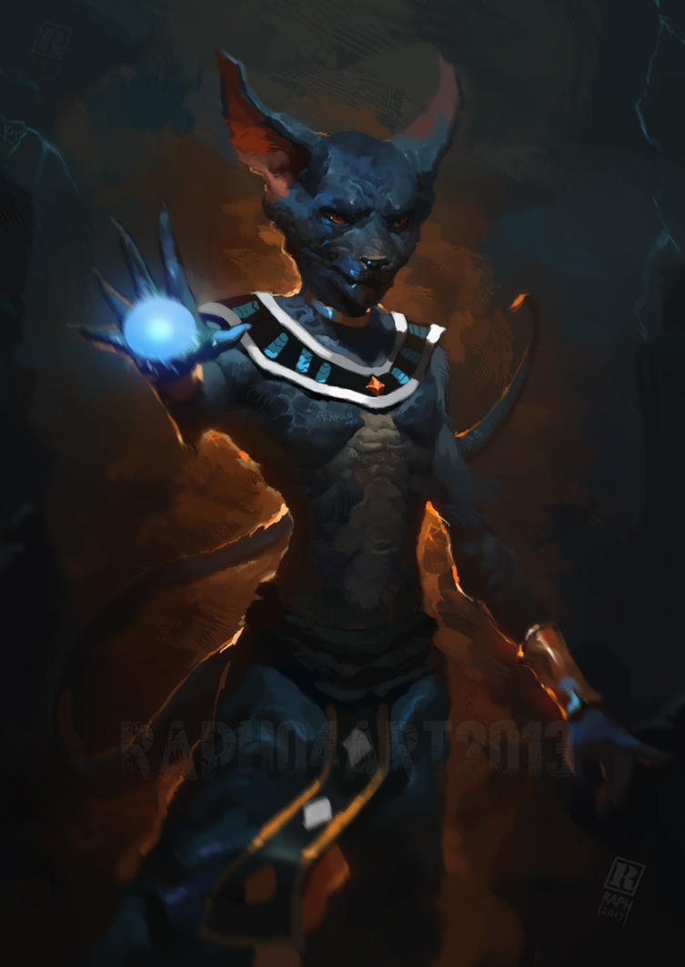 Dragon ball Z  Battle of Gods-  Lord Bills/Beerus by RAPHTOR
