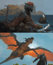 Dragons by RAPHTOR