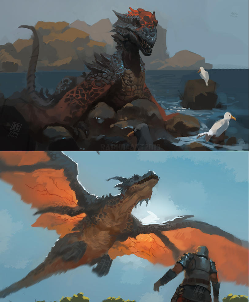 Dragons by Raph04art