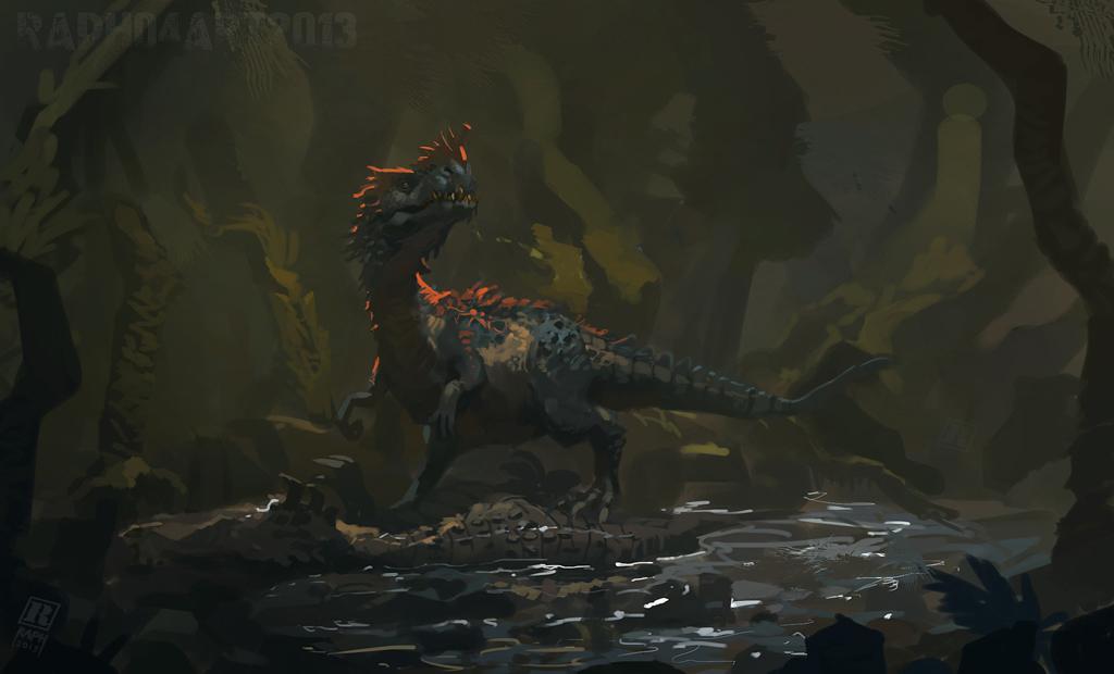 Saltuvenator by Raph04art